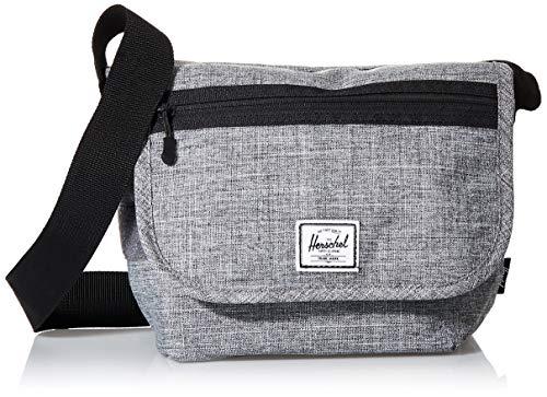 Herschel Grade Messenger Bag, Raven Crosshatch, Mini