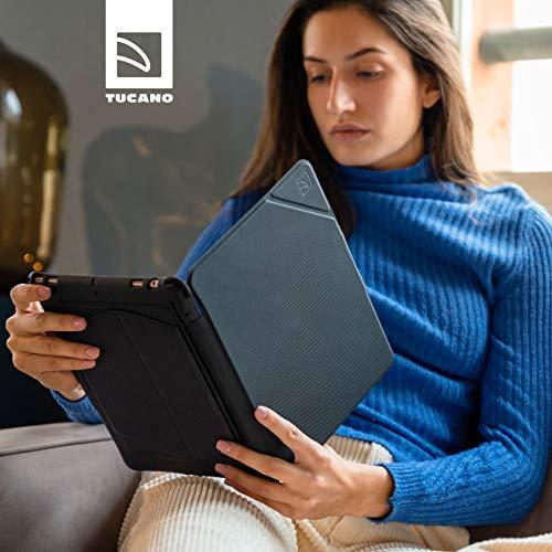 Tucano Solid, robuste Foliohülle mit Standfunktion für iPad 10,2 / iPad 10,5 Zoll, schwarz