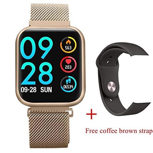 Sport En Vrije tijd Elektronische Armband, Smart Horloge Vrouwen Armband Mode Sport Waterdichte Volledige Touch Hartslag Fitness Tracker Smartwatch Mannen