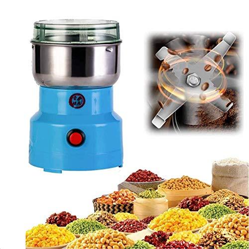 PMJAdd8s110 Multifunction Smash Machine, Electric Grain Mill Spice Herb Grinder Pulverizer Powder Machine, Ultra Fine Coffee Mill, Pulverizer Food Grade - Rice Corn Sesame Soybean