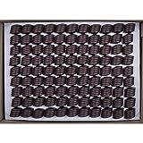 Cylinder D Gan Dark 76% - Chocolates belgas sin alcohol | Paquete XXL | Paquete de recarga | Casi 4 kg de chocolate belga | Fiesta de chocolate | Buffet de dulces | Caja grande de bombones
