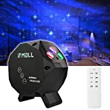 LEDMall Aurora Star Green and RGB LED Night Lights Decorative Projector with Bluetooth Speaker and Remote Control-Dark Gray