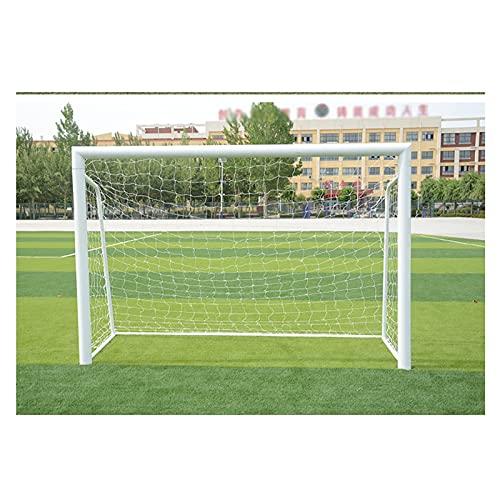 HUA Porte da Calcio Porta da Calcio da Esterno in Acciaio con Rete Pop-up, Supporto da Allenamento Portatile per Bambini, Stabile E Facile da Installare, 120x80cm