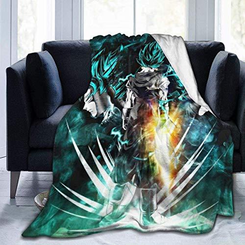 Huyin - Manta de forro polar suave y cálida, manta de aire acondicionado