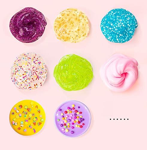 Unicorn Slime Kit for Girls - Slime for Girls, Fluffy Premade Slime with Unicorn Slime Charms, Glitter, DIY Pink, Toys… 9