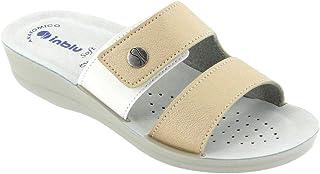 inblu Ciabatte, Pantofole Donna MOD. VR-47 Platino Linea Benessere