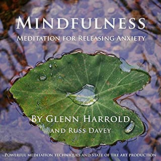 Mindfulness Meditation for Releasing Anxiety audiobook cover art