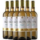 Hoya de Cadenas Chardonnay Sauvignon Blanc Vino Blanco D.O. Utiel Requena 6 Botellas - 750 ml