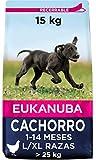 Eukanuba Alimento seco para cachorros de razas grandes con pollo15 kg