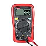Festnight UT33B + Poche LCD Multimètre Numérique DC/AC Tension DC Courant Mètre Résistance Testeur Voltmètre Ampèremètre