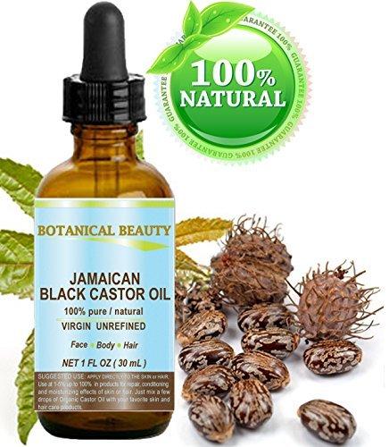 Olio di ricino nero Giamaicano. 100% puro/naturale/vergine/non raffinato...