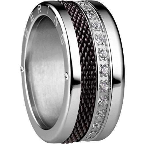 Bering Damen-Ringe Edelstahl mit Ringgröße 52 (16.6) Alexandria 6