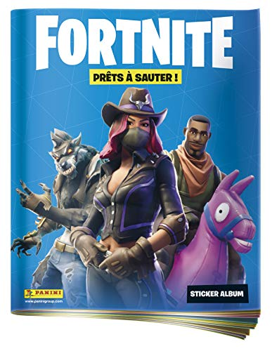 Panini France SA-album met 64 pagina's + 1 poster Fortnite Sticker, 2518-009