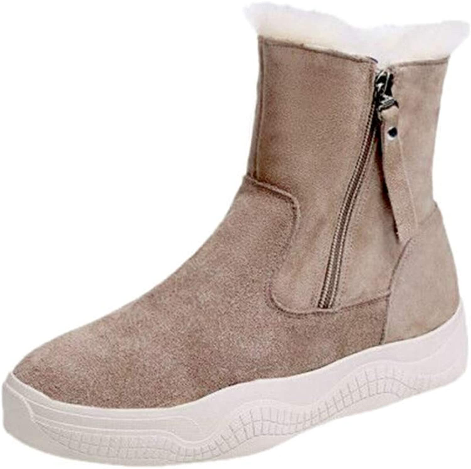 T-JULY Women Winter Vulcanize Wedges Sneakers Ladies Fashion High-top Platform Casual shoes