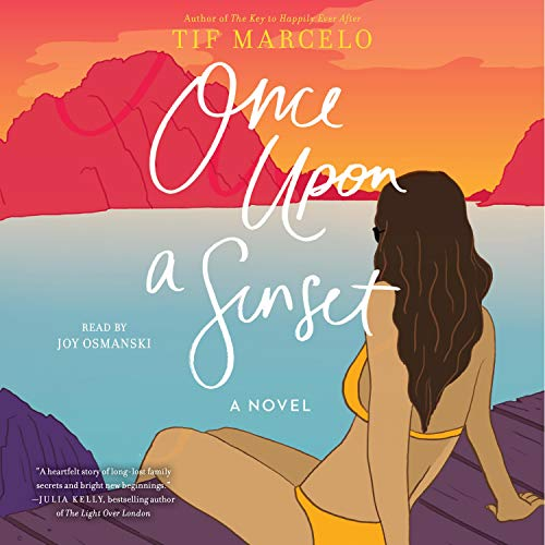 Once Upon a Sunset audiobook cover art