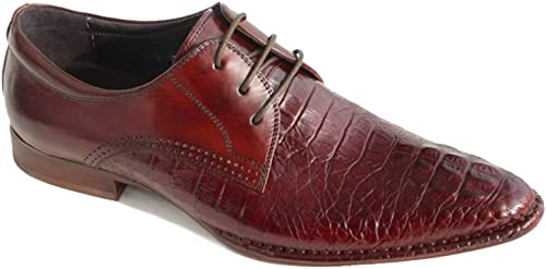 NIUMT Spitz Herren Lederschuhe Mode Business Casual Britischen Stil Schnürschuhe