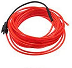 DC5V 3M USB Bunte Luminous EL Wire Rope Tube Line Flexible Neon Light for Party Christmas Decoration White EL Wire LED String Light