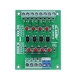 BliliDIY Convertitore Di Tensione Da 5 V A 1,8 V / 3,3 V / 12 V / 24 V Optoaccoppiatore A 4 Canali Modulo Isolato Uscita Pnp Convertitore Di Tensione Livello Segnale Plc - 3.3V