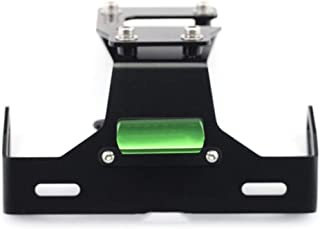 Portamatriculas Moto Motocicleta Fender Eliminator LED de la matr/ícula sostenedor del Soporte Compatible con Kawasaki Z900 2017 2018 2019 Color : Black