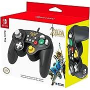 HORI Nintendo Switch Battle Pad (Zelda) Controller im GameCube-Stil
