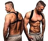 ActiveVikings Geradehalter zur Haltungskorrektur Ideal für eine aufrechte Körperhaltung - Rückenbandage Rückenstabilisator für Damen und Herren (3 - Größe L)