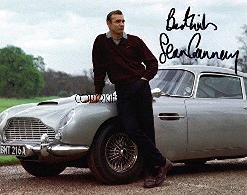 Limited Edition Sean Connery James Bond unterzeichnet Foto Autogramm signiertsigniertes