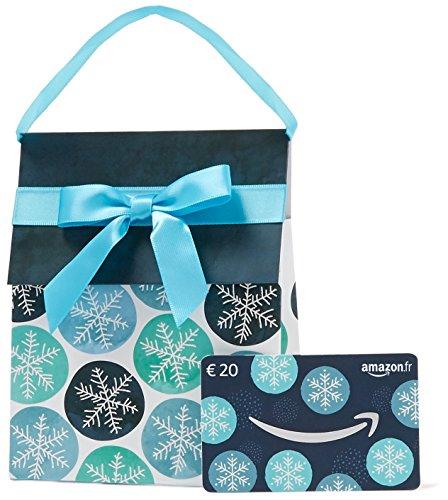 Carte cadeau Amazon.fr - €20 - Dans un sac cadeau Hiver