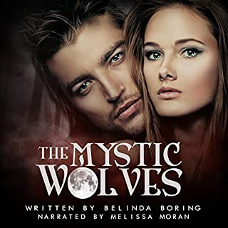 The Mystic Wolves audiobook cover art