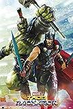 POSTER STOP ONLINE Thor Ragnarok - Marvel Movie Poster/Print (Hulk & Thor - Gladiators) (Size 24' x 36')