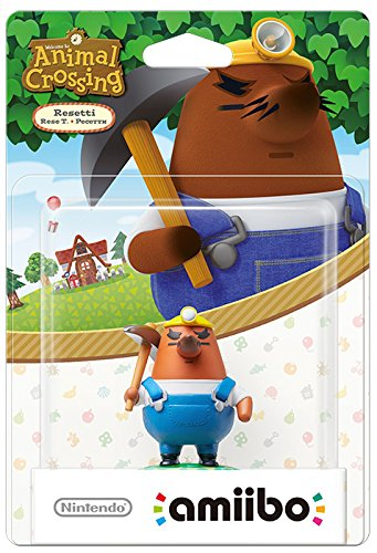Animal Crossing amiibo: Resetti