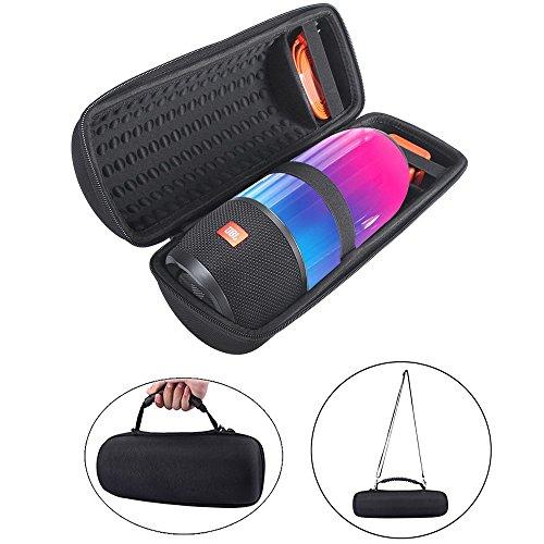 for JBL Pulse 3 Taschen Schalen Pulse3 Eva Hart Fall Reise Passend für Ladegeräte und Kabel Tragen Tasche für JBL Pulse3 Wireless Bluetooth Lautsprecher