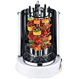 Wonderper Vertical Rotisserie Oven Electric Grill Countertop Oven Shawarma Machine Rotisserie Grill (Renewed)
