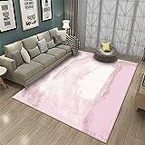 Combinación Simple de Color Liso, fácil de Limpiar, Suave y Duradera, Alfombra para el hogar de decoración de pasillos-Los 60x90cm Las alfombras Son aptas para Suelos radiantes