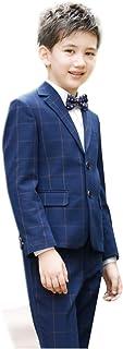 Smile子供スーツ 4点セット ジャケット&ズボン 子供スーツ こどもスーツ 子供服フォーマルスーツ 子供スーツ 男の子スーツ キッズ 紳士服 七五