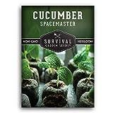 Survival Garden Seeds - Spacemaster Cucumber...