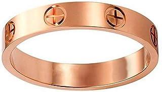 Love Ring-Lifetime Just Love You for Men Women(rose 6)
