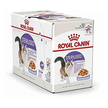 ROYAL CANIN Lot de 12boîtes de Nourriture pour Chat stérilisé 85g