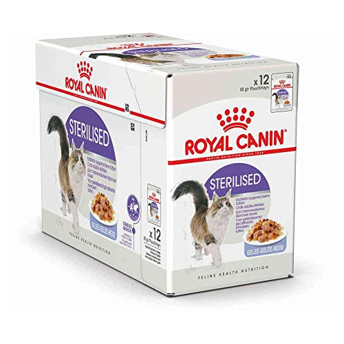 Royal Canin Sterilised In Gelee, 12 x 85g
