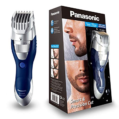Panasonic ER-GB40 Wet and Dry Electric Beard Trimmer for Men with 19 Cutting Lengths