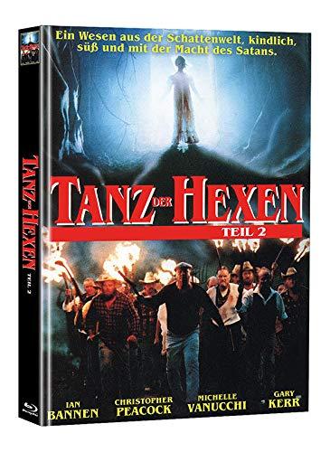 Tanz der Hexen 2 - Mediabook - Limited Edition auf 55 Stück (+ Bonus-DVD mit weiterem Horrorfilm) [Blu-ray]