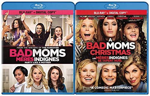 Bad Moms / A Bad Moms Christmas (Blu-ray) (2-Pack)