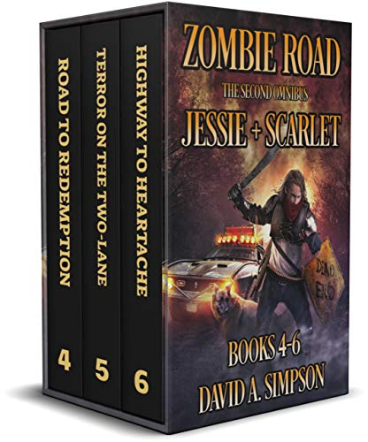 Zombie Road: The Second Omnibus: Jessie + Scarlet (The Zombie Road Omnibus Collection Book 2) (English Edition)