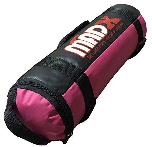 Madx - Sacco di Sabbia per Crossfit E Allenamento Vuoto, per MMA E Boxe, Allenamento, Fitness, Colore: Viola