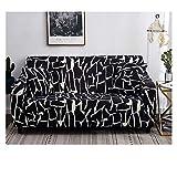 ZIXING Fashion Fundas de sofás de Patrón de Flores,Antideslizante para Todas Las Estaciones, Sofá Stretch Elastic Fabric Sofá Protector 145 * 185cm