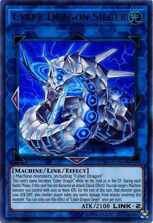 Yu-Gi-Oh - Cyber Dragon Sieger Ultra CYHO-EN046 Rare Unli New Max 45% OFF mail order