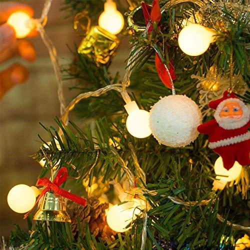 Yinuo Candle Catena Luminosa Di Luci Led 15M Filo di 100 Lampadine 15M e Cavo Di Prolunga 3M Luci Da Esterno E Interno Con 8 Modalità Flash. Per Giardino, Casa, Feste, Natale, Matrimonio, Decorazioni