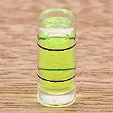 Instrumentos de medición de nivel prácticos para brújula de marco de fotos nivel burbuja tubo acrílico de alta precisión indicador de líquido