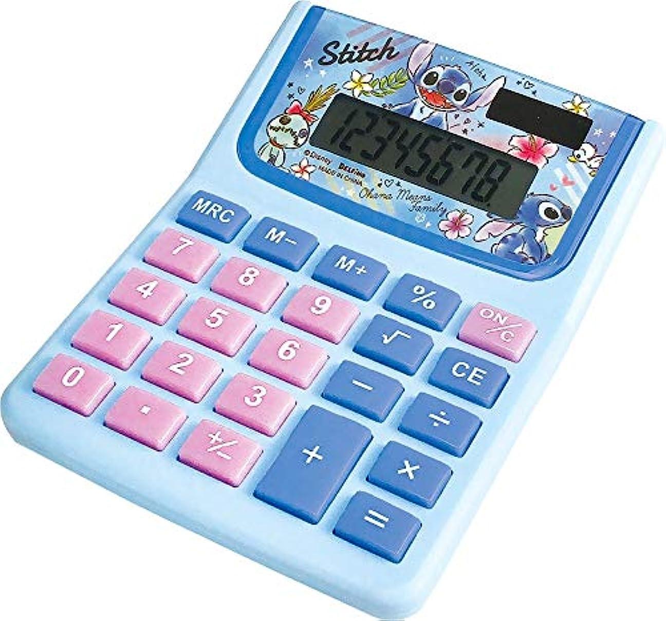 ディズニー 電卓 スティッチ DZ-79774