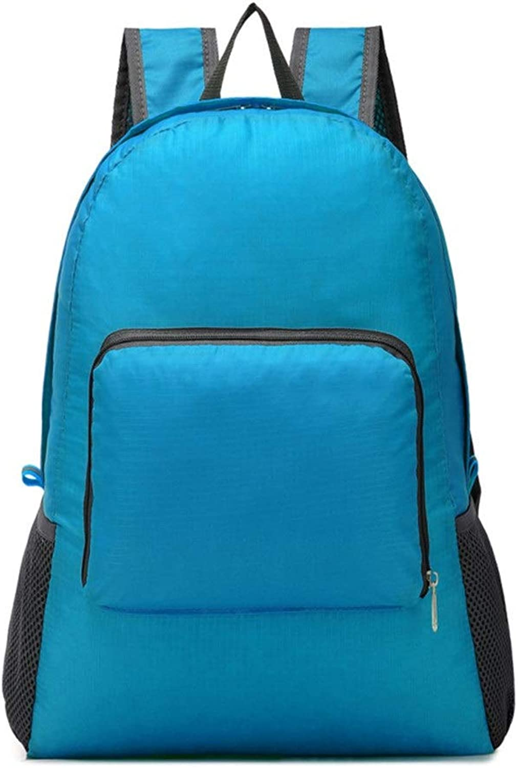 Backpacks Mountaineering Bag Men's Travel Bag Travel Backpack Backpack for School Men's Water Resistant Casual Daypack (color   blueee)