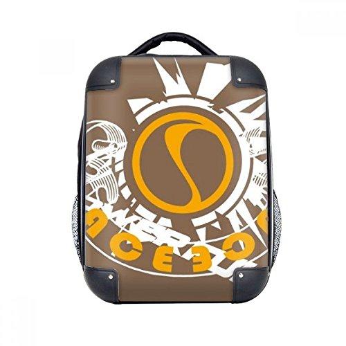 DIYthinker Graffiti-Straßen-Powerful AOE Explosion Hard Case Schulter Kind-Rucksack-Geschenk 15